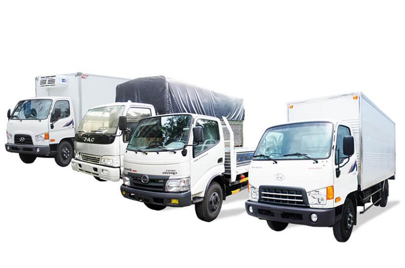 Xe tải chở hàng đi Cần Thơ